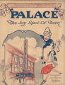 Palace Theater Program