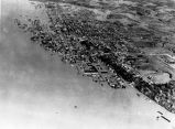 Flood aerial view, Tell City, IN, 1937