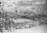Flood, aerial view, Jeffersonville, IN, 1937