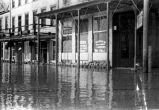 Riverview Inn on Water St. Flood, Newburgh, IN, 1937