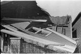Wind damaged home,  Evansville, IN, 1937