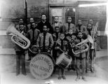Fredrick Douglas High School band, 1920