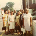 Dr. and Mrs. Rochelle and group, Evansville, IN, 1971