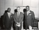 From left to right: Charles Rochelle, Herbert Erdmann, and E.C. Niles