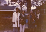 Rev. Cobb and wife, and Dr. and Mrs. Rochelle, December 1976