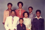 Alfred Bias?, and family, December 1976