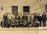 Group of men, American Legion, June 1, 1935