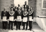 Members of Cawthur, Masonic Temple 118, Evansville, IN