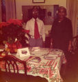 Dr. and Mrs. Rochelle, Christmas 1976