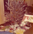 The Rochelle's home at Christmas, 1976
