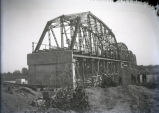 Harmony Way Bridge construction from Illinois side, White County, IL