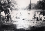 Frank Bailey, Ina Bailey, Neva Glump, A.C. Thomas and Mrs. John Cartwright on a picnic at Foots...