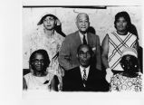 Alexander AME Church members, Alfred Porter, 1st row, middle