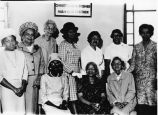 Alexander AME Church members, Mrs. William Best, sitting, middle