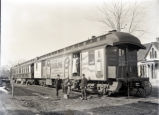 California fruit railroad car, New Harmony, IN.