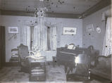Minerva Woman's Club parlor, New Harmony, IN.