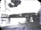 Wooden bridge, Posey County, IN