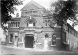 Wardelmann and Son Garage in old opera house, New Harmony, IN