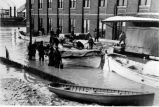 U.S. Coast Guard boats, flood of 1937, Evansville, IN