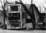 Flood damaged house, 1937,  Evansville, IN