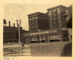 Hotel McCurdy, flood, Evansville, IN, 1937