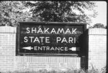 Historic Shakamak State Park entrance sign