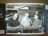 Gordon Cooper, Bo Randall, and Gus Grissom with knives