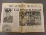 Mitchell Tribune Souvenir for Gus Grissom