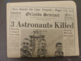 """3 Astronauts Killed"""