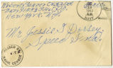 Letter from Robert Beaver to Mr. Jessie G. Dorsey, January 15, 1943.