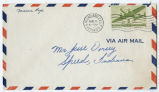 Letter from Marion Pope to Mr. Jesse Dorsey, August 6, 1945.