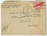 Letter from Ora B. Broadus to Jesse G. Dorsey, February 19, 1945.