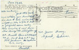 Postcard from Donald Renn to Mr. Jesse Dorsey, June 30, 1944.