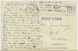 Postcard from Victor E. Prather to Mr. Jesse Dorsey, November 7, 1943.