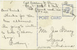 Postcard from Anthony G. Perry to Mr. Jess Dorsey, July, 2, 1943.