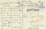 Postcard from Anthony G. Perry to Mr. Jesse Dorsey, June 7, 1943.