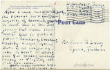 Postcard from G. C. Miller to Mr. Jesse G. Dorsey, July 6, 1943.