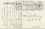 Postcard from G. C. Miller to Mr. Jesse G. Dorsey, June 18, 1943.