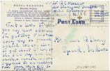 Postcard from G. C. Miller to Mr. Jesse G. Dorsey, March 17, 1943.