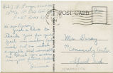 Postcard from J. P. Langan to Mr. Jesse Dorsey, June 13, 1944.