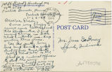 Postcard from Gilbert J. Himebaugh to Mr. Jesse G. Dorsey, January 20, 1944.