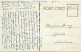 Postcard from Marion E. Henson to Mr. Jesse Dorsey, April 3, 1944.