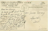 Postcard from Jarvis D. Henderson to Mr. Jesse Dorsey, October 25, 1943.