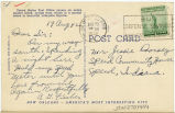 Postcard from Arnold G. Fischer to Mr. Jessie Dorsey, August 19, 1942.