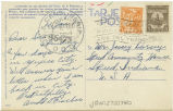 Postcard from Arnold G. Fischer to Mr. Jessey Dorsey, 1944.