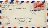 Letter from Tony Del Grande to Mr. Jesse G. Dorsey, July 28, 1945.
