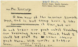 Postcard from Pood Davis Jr. to Mr. Jesse G. Dorsey, May 10, 1942.