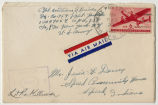 Letter from William I. Briner to Mr. Jessie G. Dorsey, November 15, 1944.