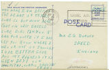Postcard from Glen Beyl to Mr. J. G. Dorsey, September 4, 1942.