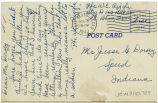 Postcard from W. E. Riggle to Mr. Jesse G. Dorsey, August 6, 1943.
